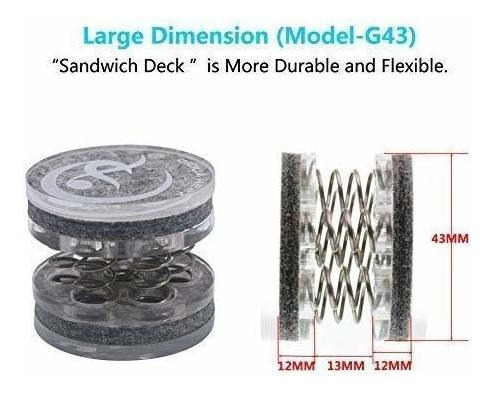 spring speaker spike 1.7inch altavoces grandes puntas aislam