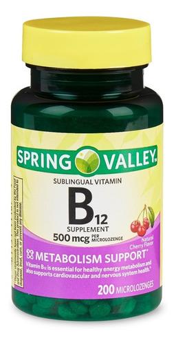spring valley vitamin b12 2500 mcg 60 capsulas / oferta