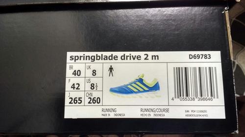 springblade drive tênis adidas