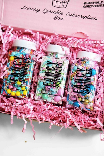 sprinkles de fancy sprinkles (granas importadas)