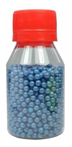 sprinkles grageas perlas azul oscuro decoración cupcakes