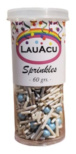 sprinkles mister - blanco y celeste -  50grs / lauacu