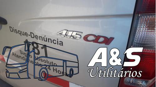 sprinter 415 2016 teto alto c/20 lug. confira oferta! ref385