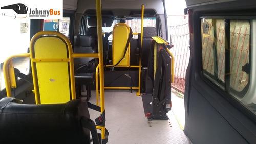 sprinter acessibilidade de cadeirantes - 2013/13 - johnnybus