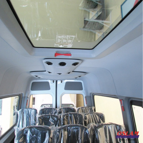 sprinter executiva 415 luxo, teto solar, ar condicionado