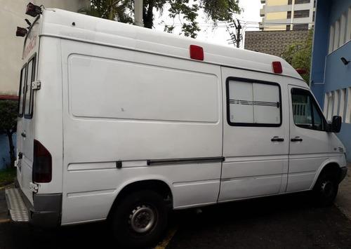 sprinter furgão rontan ambulância 311 2004 branca confira !!