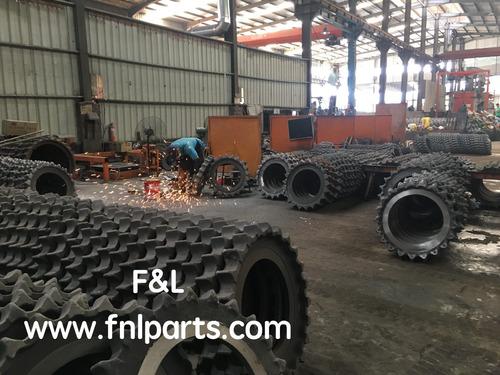 sprockets y segmentos para excavadora tren de rodaje