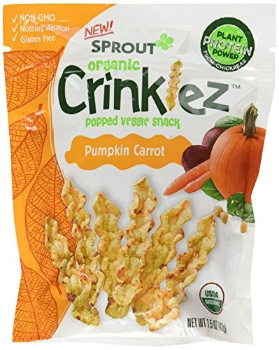 sprout organic baby food sprout organic crinklez snack para