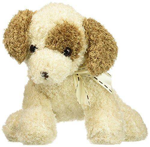 spunky felpa 11 cachorro con marrón claro piel rizada marrón