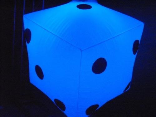 sputnik dado 50x50 completo, 110 ou 220v, dj,barmam, treliça