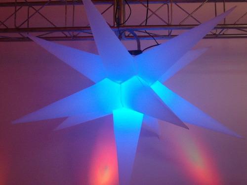 sputnik estrela - 11 pontas - 130 cm
