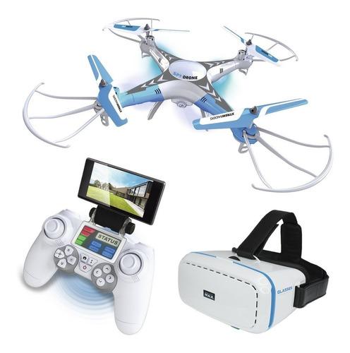 spy drone con lentes realidad virtual y control remoto xtrem