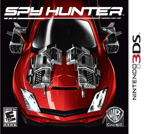 spyhunter para 3ds em perfeito estado , na caixa original