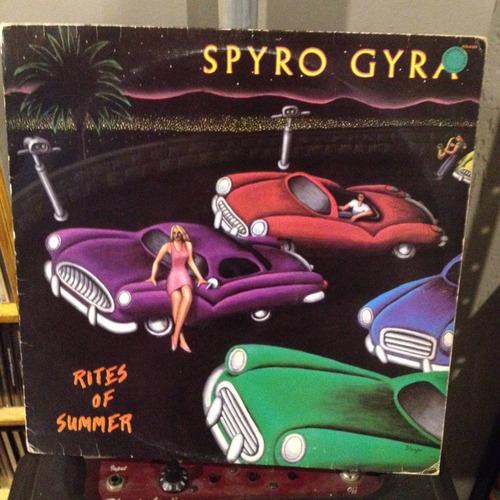 spyro gyra rites of summer lp vinil disco