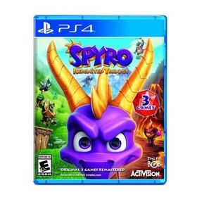 Spyro Reignited Trilogy Ps4, Disco, Nuevo Y Sellado