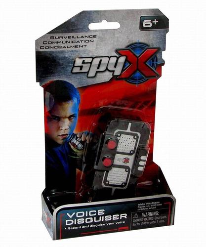 spyx / micro voice disguise - grabación de vo + envio gratis