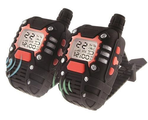 spyx / wrist-talkies - reloj walkie talkies d + envio gratis