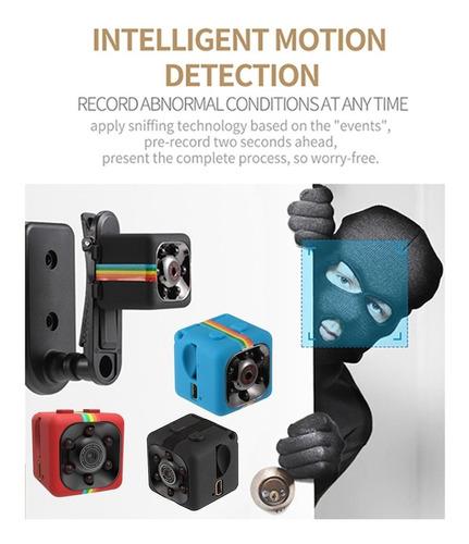 sq11 1080p cámara resistente al agua negro