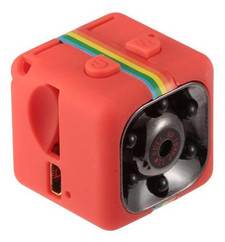 sq11 1080p cámara resistente al agua roja
