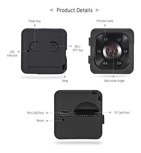 sq11 câmera full hd 1080 p micro ir night vision dv sensor d