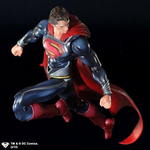 square enix man of steel superman action figure