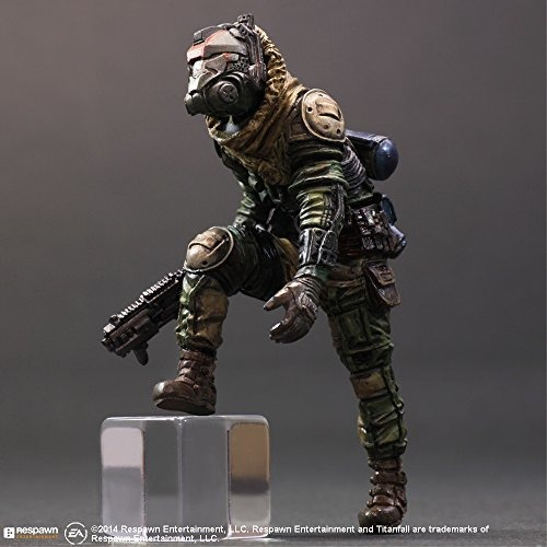 "PLAY ARTS KAI ATLAS TITANFALL ARMOR ROBOT 10/"" ACTION FIGURE STATUE NEW No BOX"