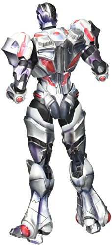 square enix play arts kai cyborg figura de acción