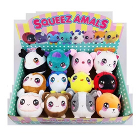 Squeezamals Peluches Squishy Perfumado