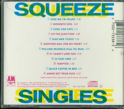 squeeze - 45s and under