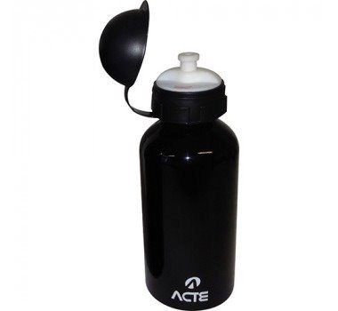 squeeze alumínio 500ml - preto - acte sports - c5
