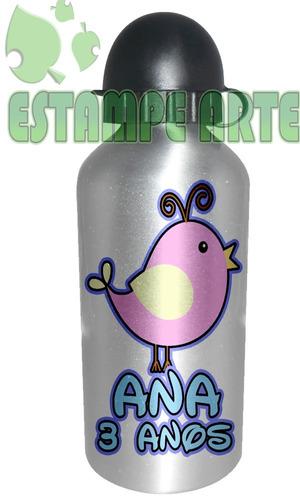 squeeze de aluminio promocao arte do cliente ou tema