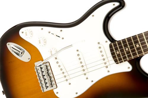 squier 0370620532 guitarra eléctrica affinity lh sombreada