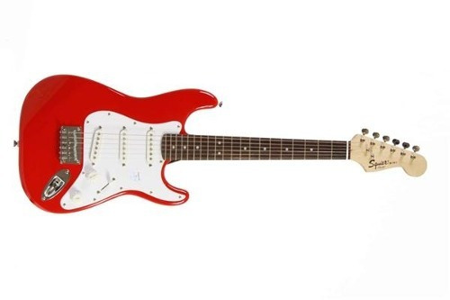 squier stratocaster mini rwn esc 20,75  sss torino red