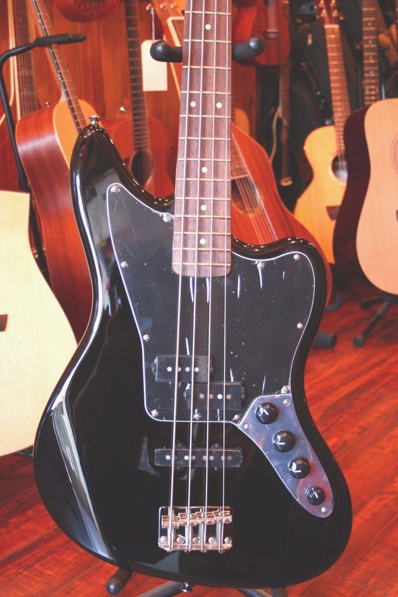 Squier Vintage Modified Jaguar Bass Special - Negro