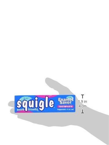 squigle pasta dientes squigle menta 4 onzas paquete 2