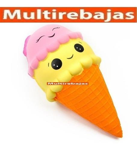 squishy con aroma en forma de helado unicornio