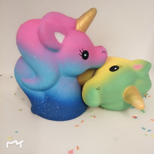 squishy kawaii unicornio grande !! anti strees!!! novedad