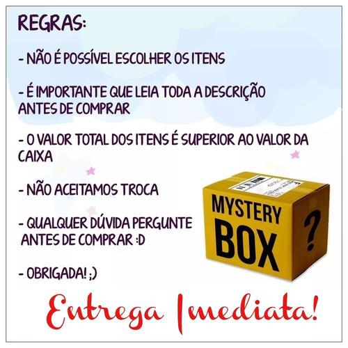 squishy mistery box slow rising cute kawaii caixa misteriosa