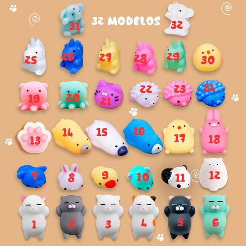 squishy mochi animals anti stress toys