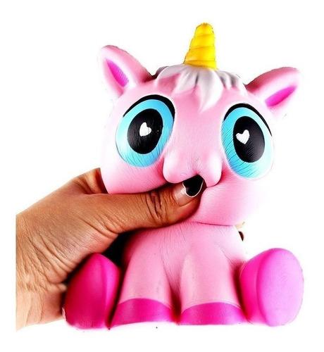 squishy unicornio gigante 17 cm, squishy unicornio jumbo