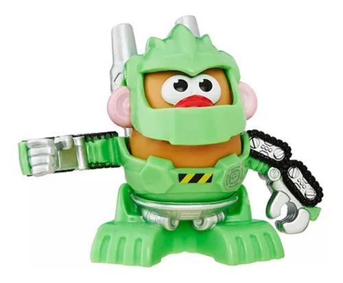 sr cara de papa playskool hasbro transformer rescuet verde