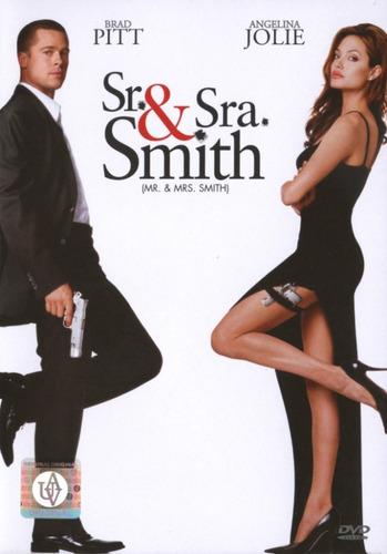 sr. y sra. smith brad pitt y angelina jolie dvd nuevo origin