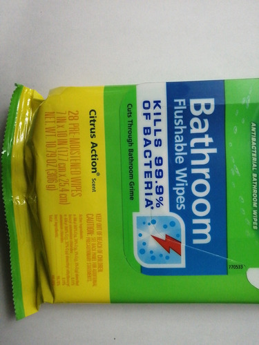 srcrubbing bubbles (toallas desinfectantes para baño)