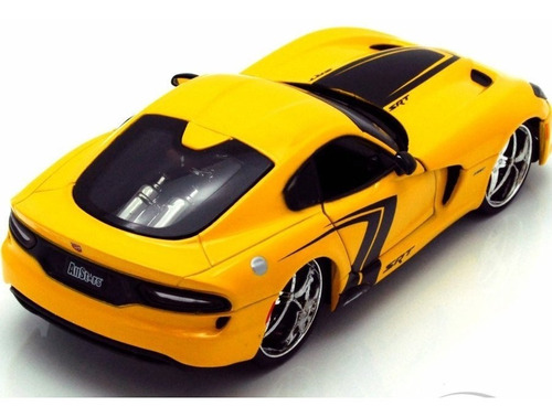 srt viper gts maisto allstars 1:24 carros miniaturas réplica