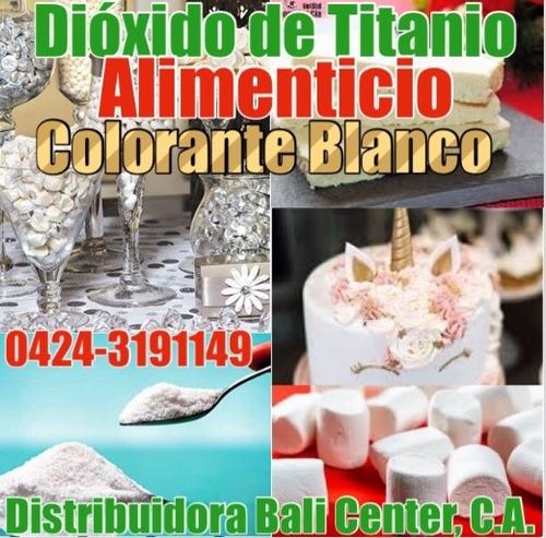 srv alimenticio comestible colorante blanco dioxid de titani