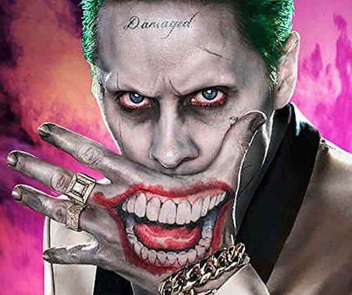 Ss Joker Sr J Cara Y Mano Tatuajes Temporales 72 900 En Mercado
