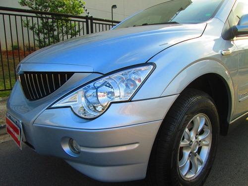 ssangyong actyon 2010 automática + couro nova sem detalhes