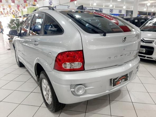 ssangyong actyon 2.3 4x2 16v 150cv gasolina automatico 2010