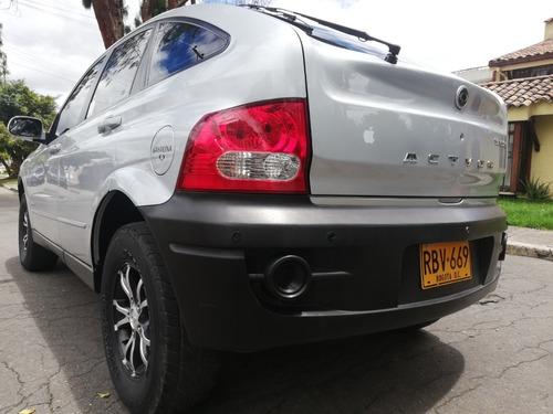 ssangyong actyon actyon a230 mecánica gasolina 4x2 2011