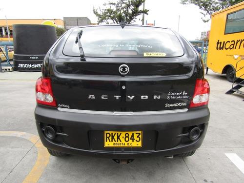 ssangyong actyon d20dt diesel